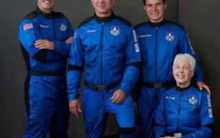 Nóng: Xem hành trình Blue Origin và 11 phút bay vào không gian của tỷ phú Bezos