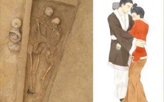 Ngôi mộ 1.500 năm tuổi ở Trung Quốc hé lộ 'tình yêu' vĩnh cửu