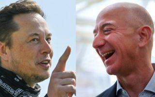 Elon Musk troll Bezos sau tiết lộ Amazon đầu tư vào nghiên cứu chống lão hóa