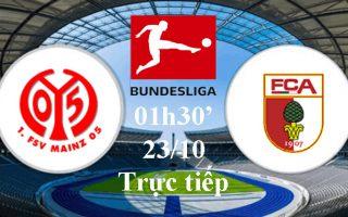 Bundesliga: Nhận định, link xem trực tiếp Mainz 05 vs Augsburg lúc 01h30′, 23/10