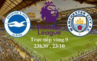 Dự đoán, Link xem trực tiếp trận Brighton vs Man City lúc 23h30′, 13/10