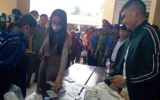 Không thể tổng hợp chính xác số tiền ca sĩ Thủy Tiên trao ở Quảng Trị