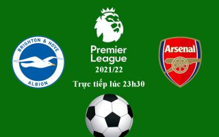Vòng 7 Ngoại hạng: Link xem trực tiếp Brighton vs Arsenal 23h30 tối 2/10